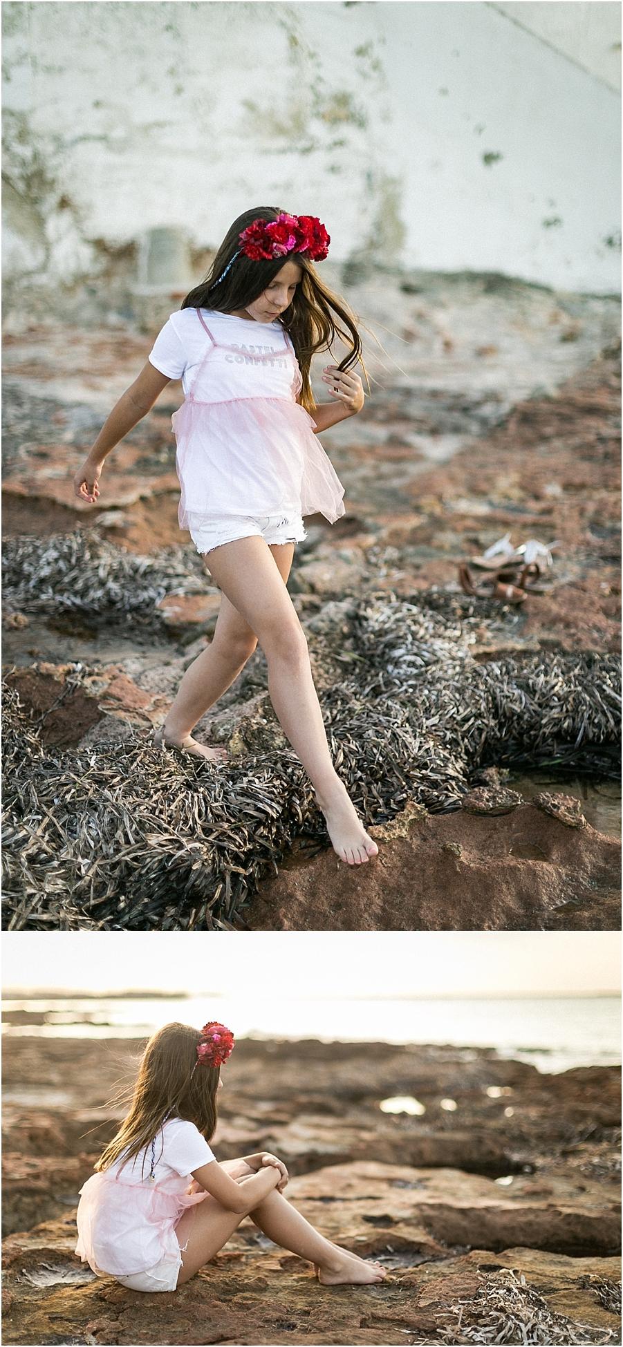 fotografia niña playa valencia