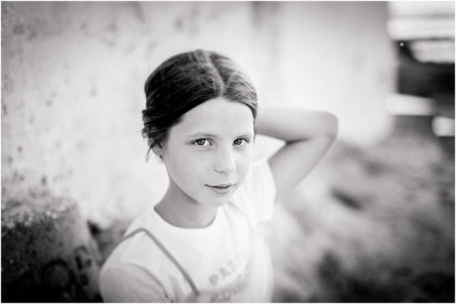 fotografia niña playa