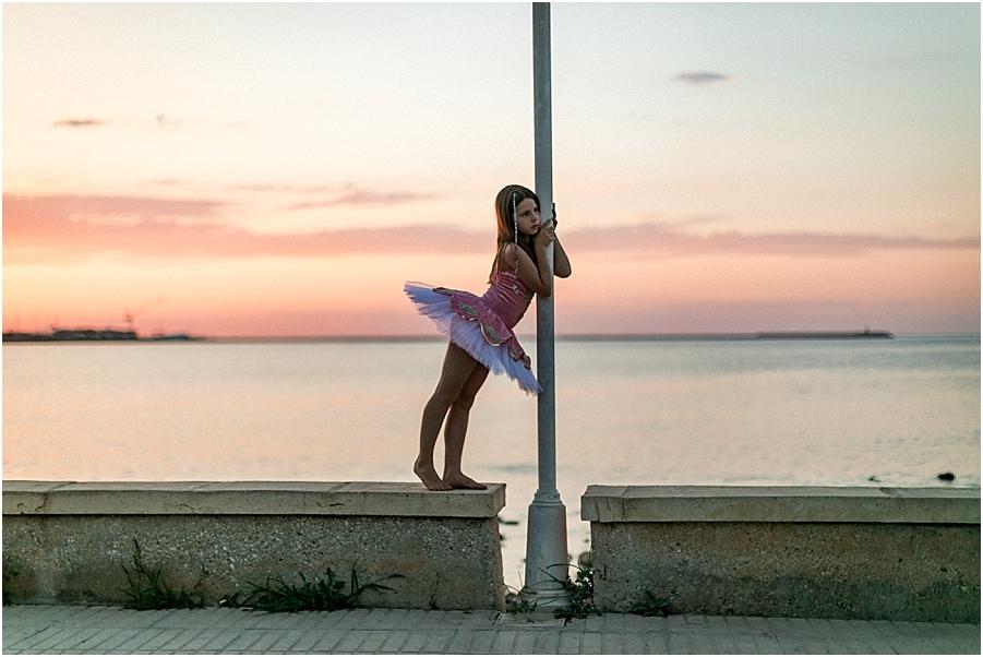 bailar en la playa