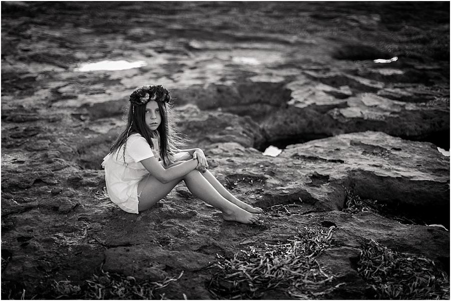 sesión niña playa valencia