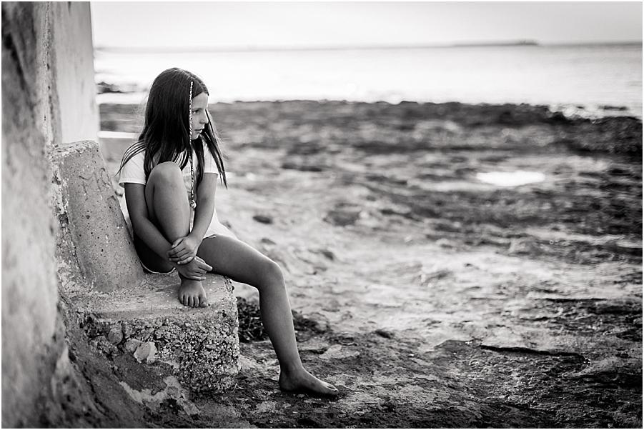 sesión infantil playa Denia