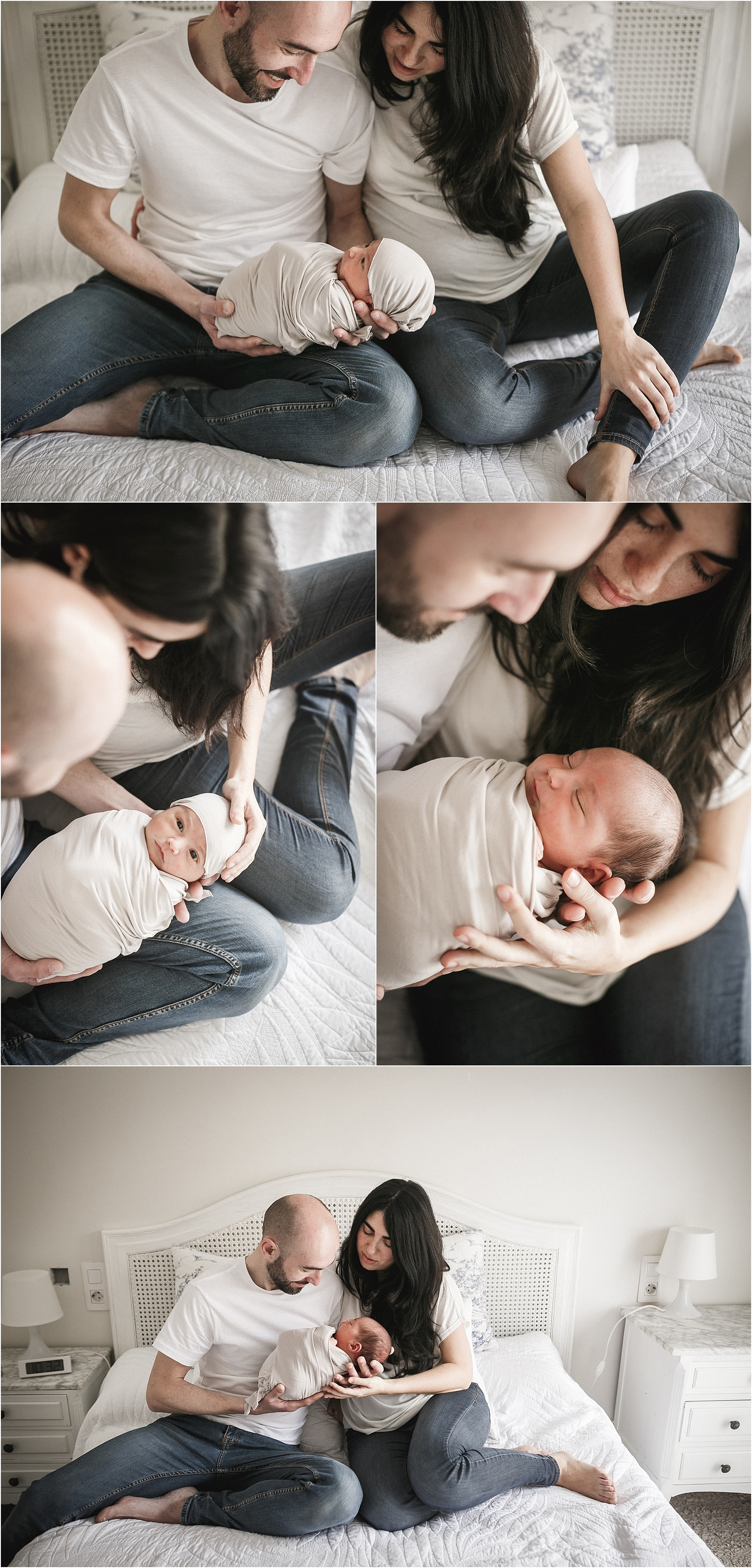 recién nacido a domicilio