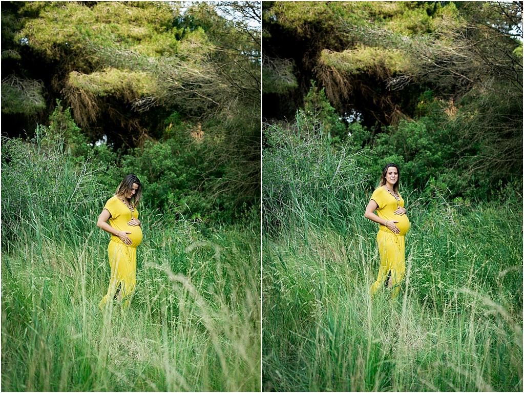 fotografia embarazo en la playa