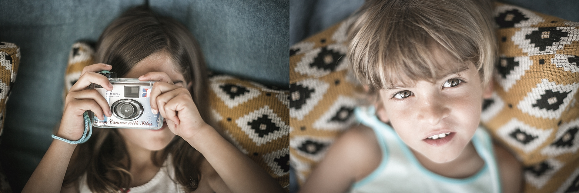 fotografia niños a domicilio