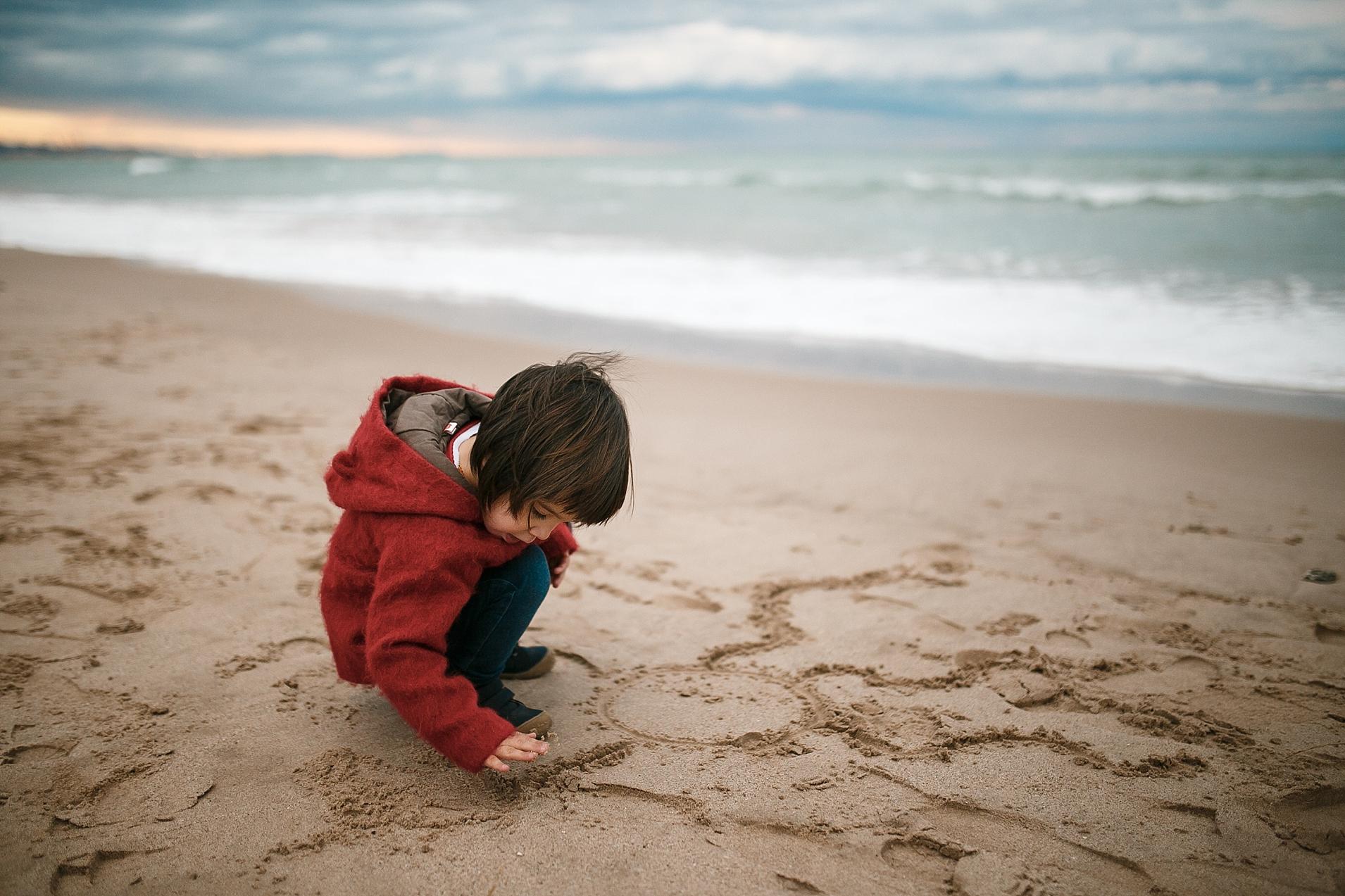 sesión niños valencia fotografia playa