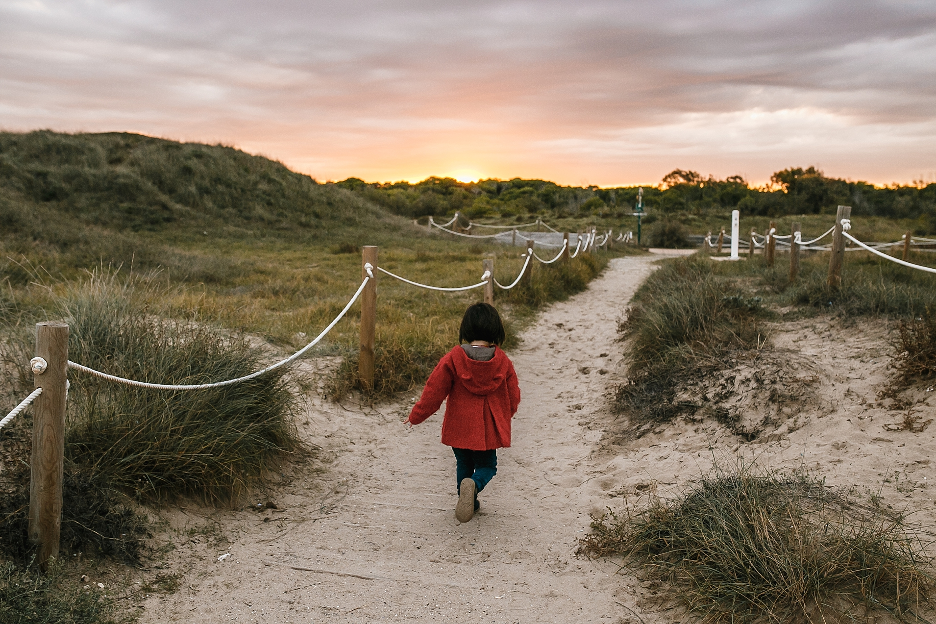 reportaje playa invierno valencia