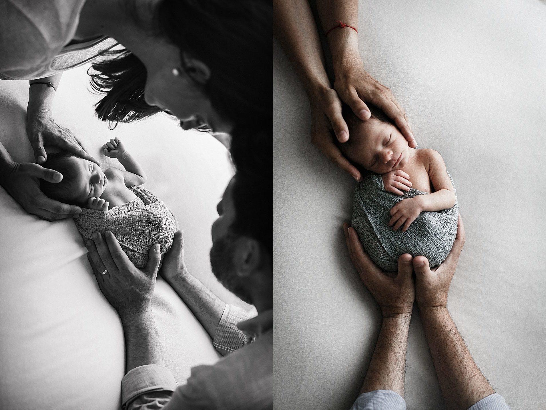 sesion newborn valencia luz natural