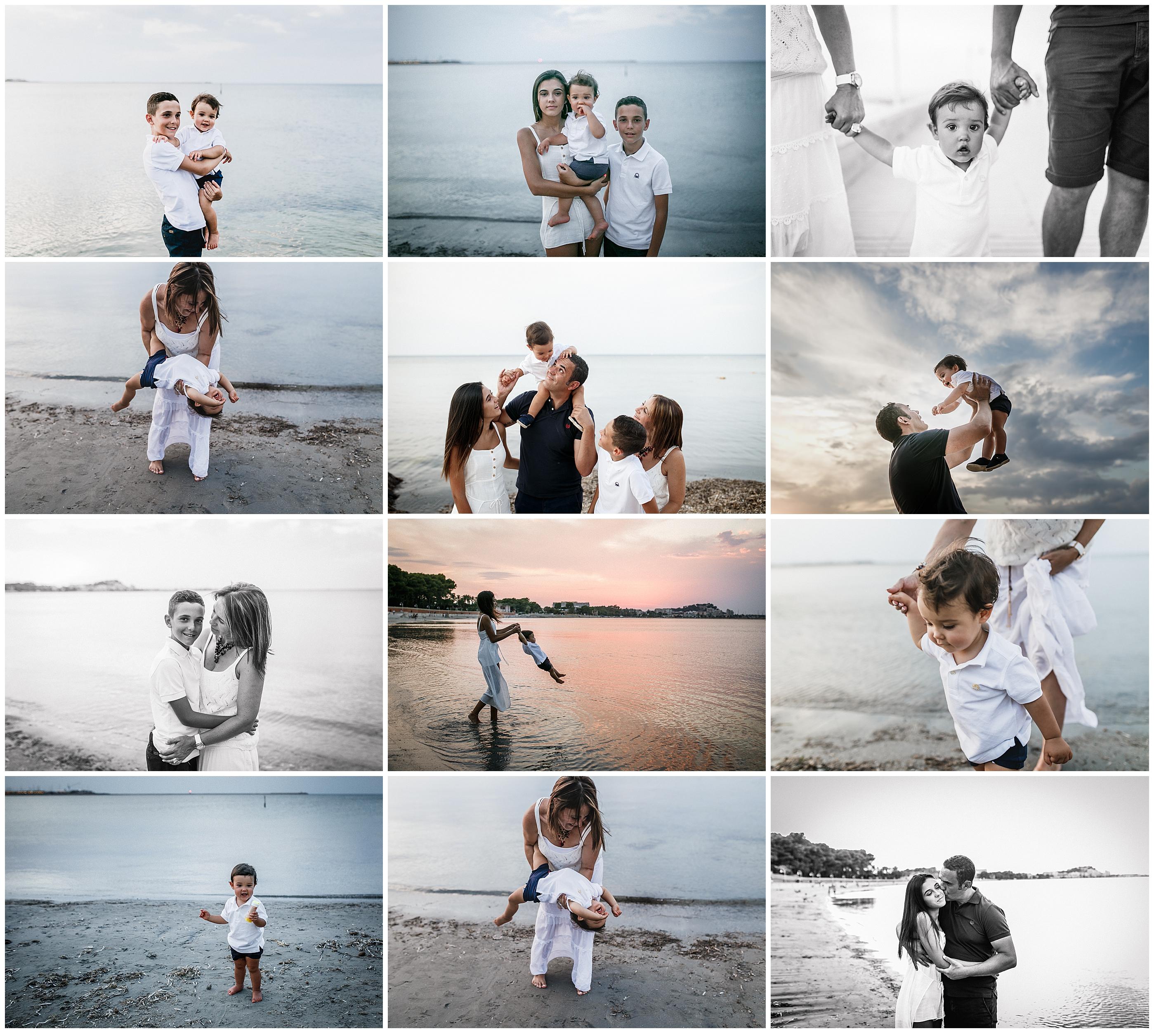 sesion foto valencia playa familia