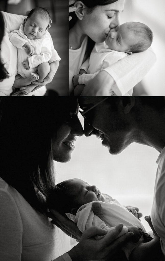 reportaje de recién nacido en casa